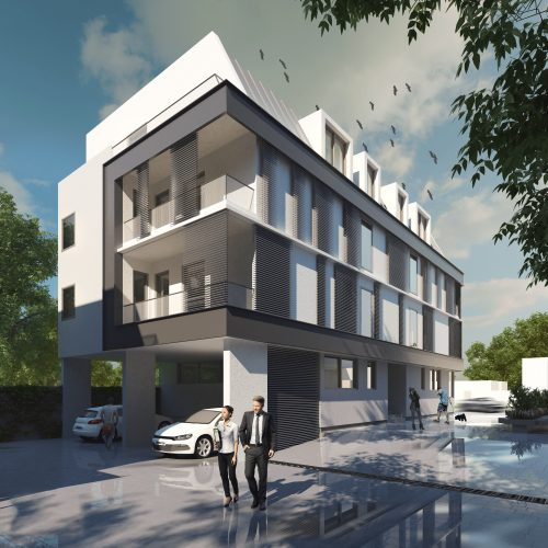 Randare proiect rezidential Calusei 2